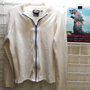 Harley-Davidson Sweaters - Harley Davidson Motor Clothes Full Zip Sweater Lrg